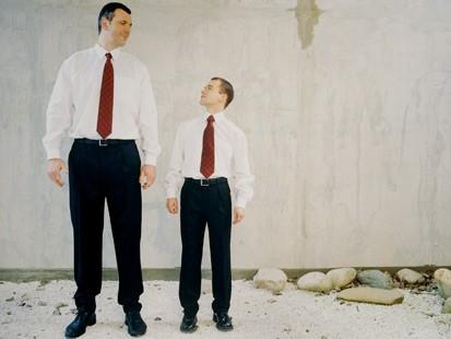 背の高さとパワーとの密接な関係②