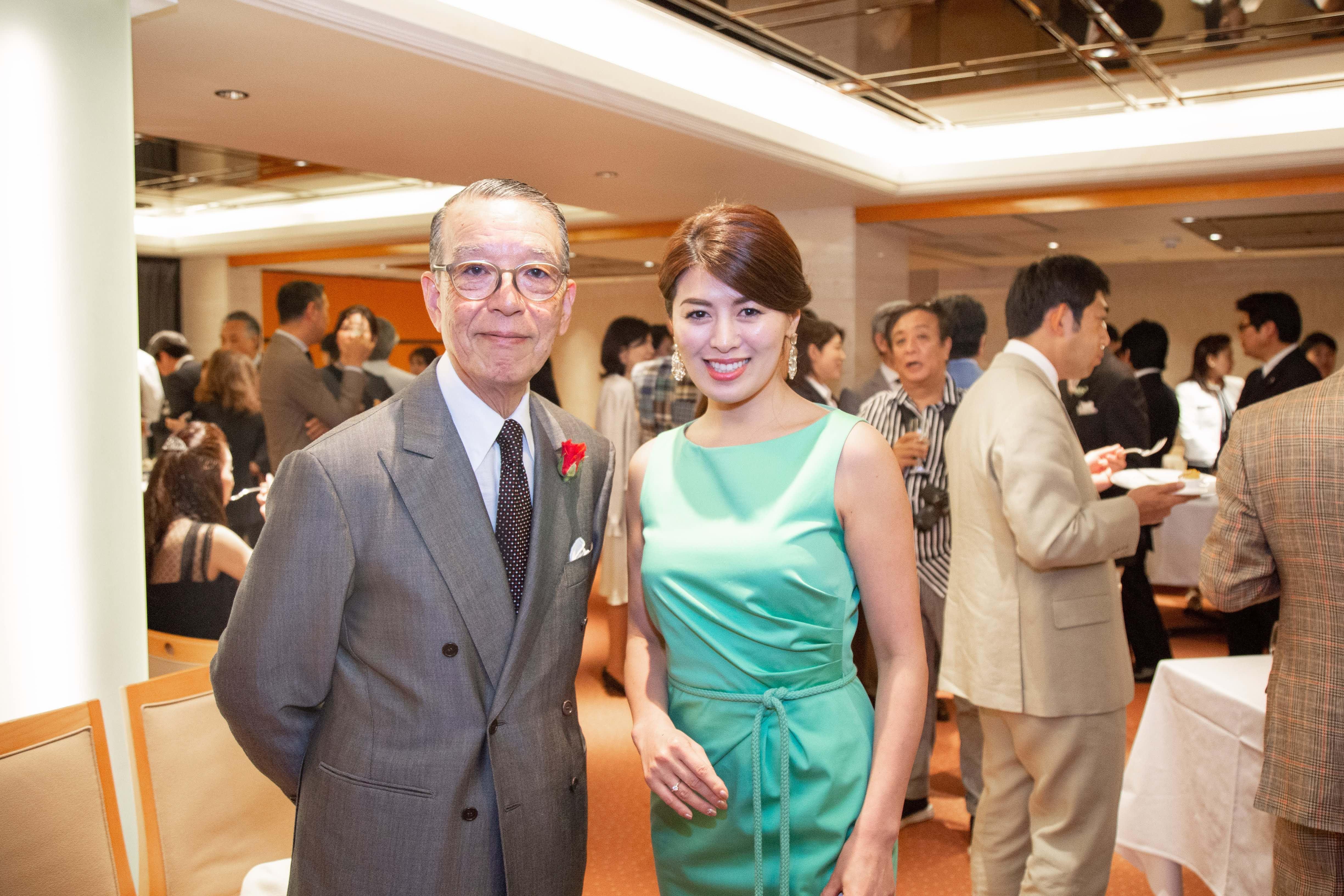 赤峰幸生さん 安積陽子 出版記念パーティー